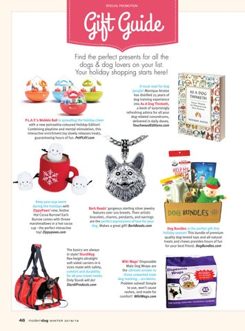 Page 48 of Modern Dog Gift Guide