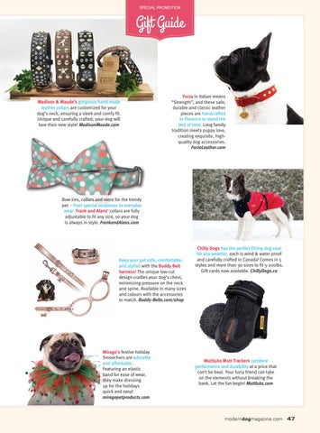 Page 49 of Modern Dog Gift Guide