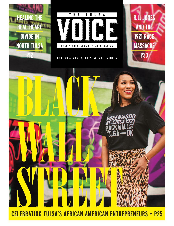 The Tulsa Voice | Vol  6 No  5 by The Tulsa Voice - issuu