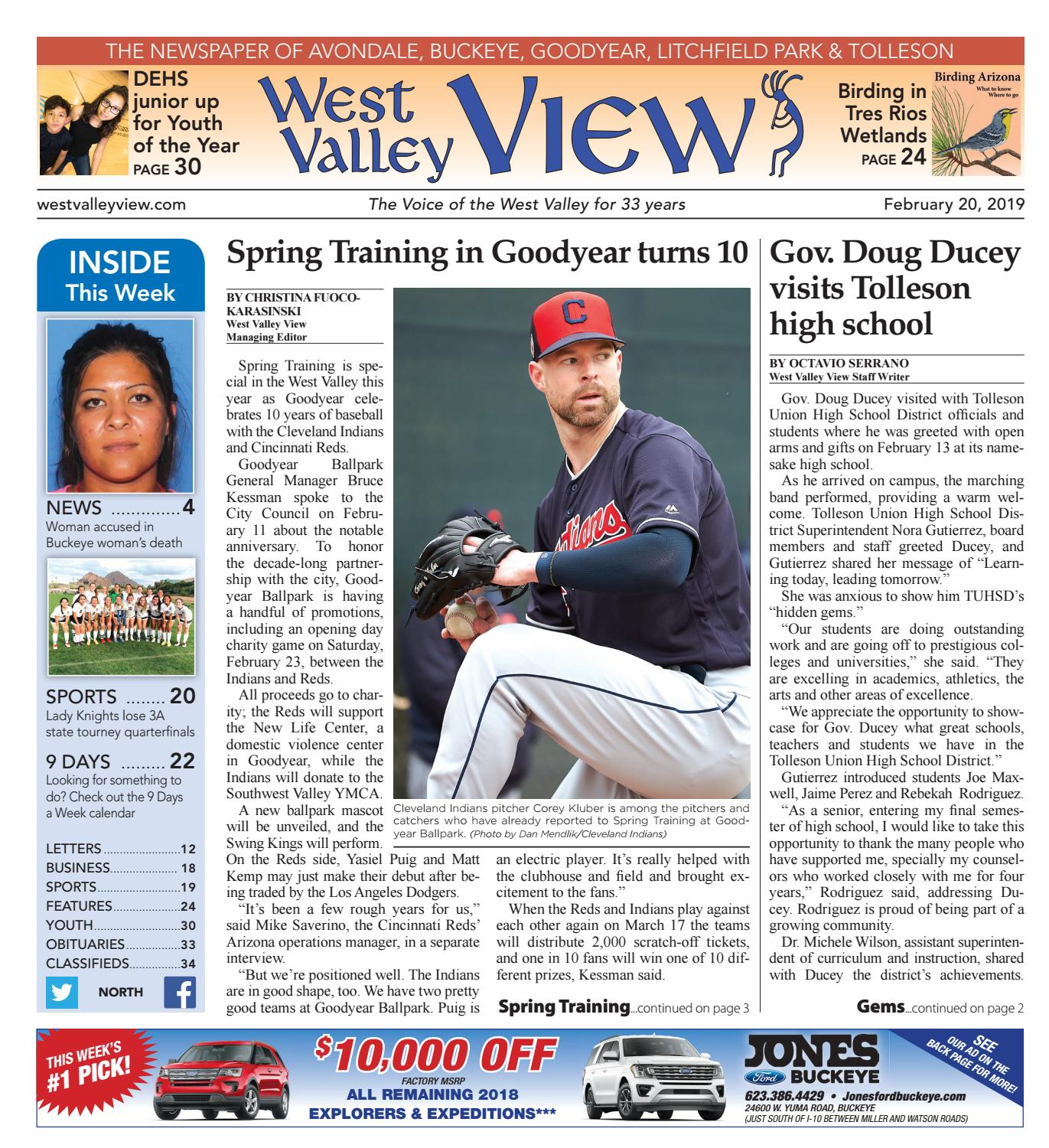 West Valley View: North 02-20-2019 by Times Media Group - issuu