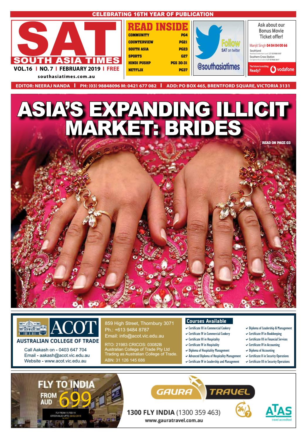 South Asia Times - Feb 2019 by South Asia Times - issuu