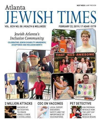 30d880217f Atlanta Jewish Times, XCIV No. 08, February 22, 2019 by Atlanta ...