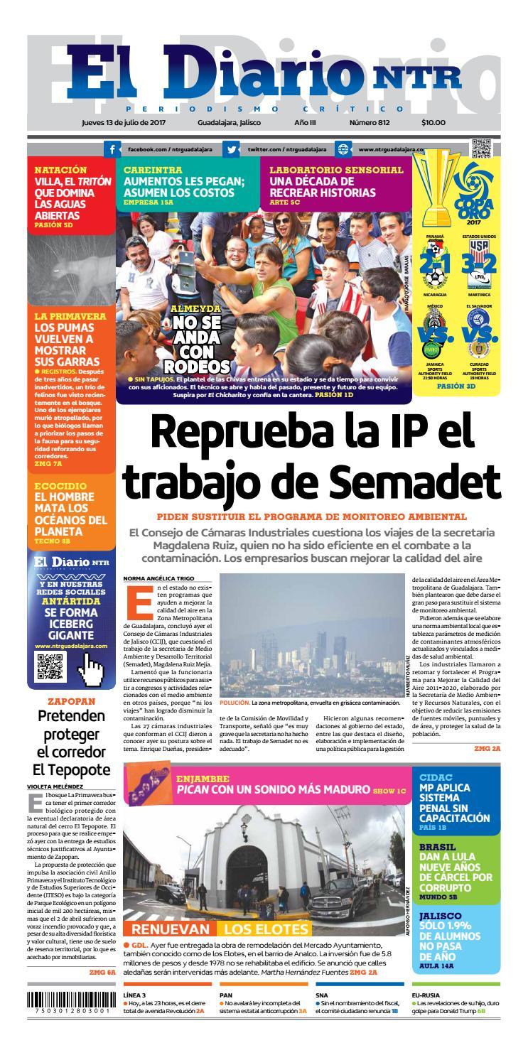El Diario Ntr 812 By Ntr Guadalajara Issuu