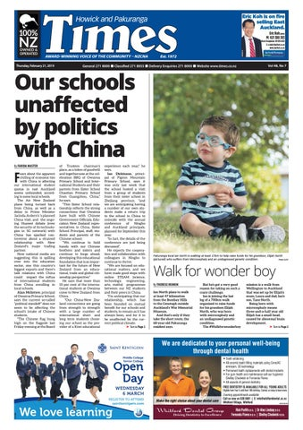 c7e7cc9a Howick and Pakuranga Times, February 21, 2019 by Times Media - issuu