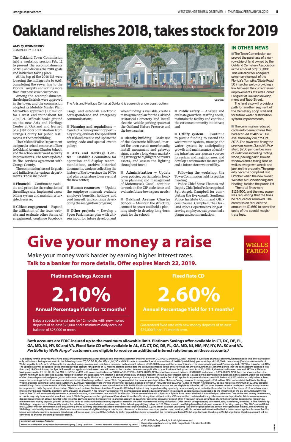 02 21 19 West Orange Times & Observer