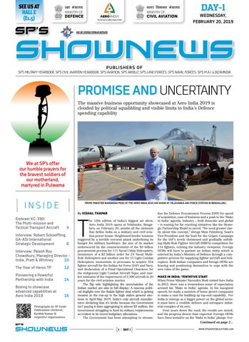 SP's ShowNews - Aero India 2019 - Day 1 by SP Guide