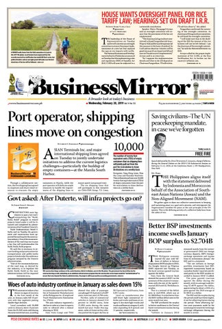 17c05f2d3e2 Businessmirror February 20, 2019 by BusinessMirror - issuu