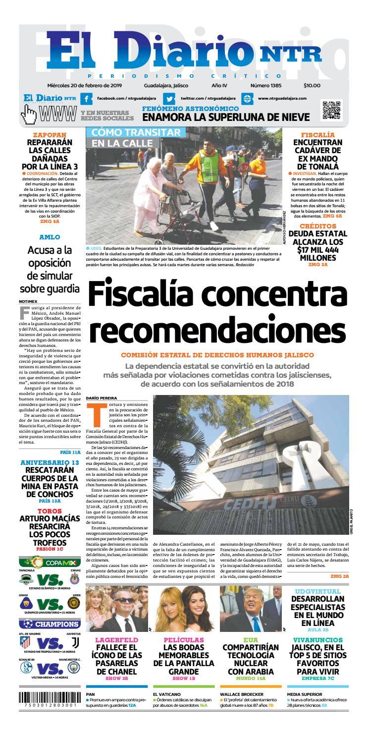 4922a7da1 El Diario NTR 1385 by NTR Guadalajara - issuu