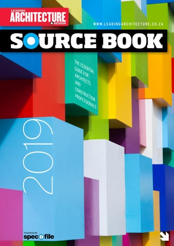Leading Architecture & Design Sourcebook 2019 by New Media