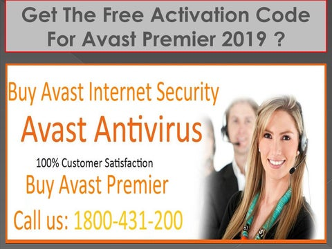 Get the free activation code for Avast Premier 2019? by