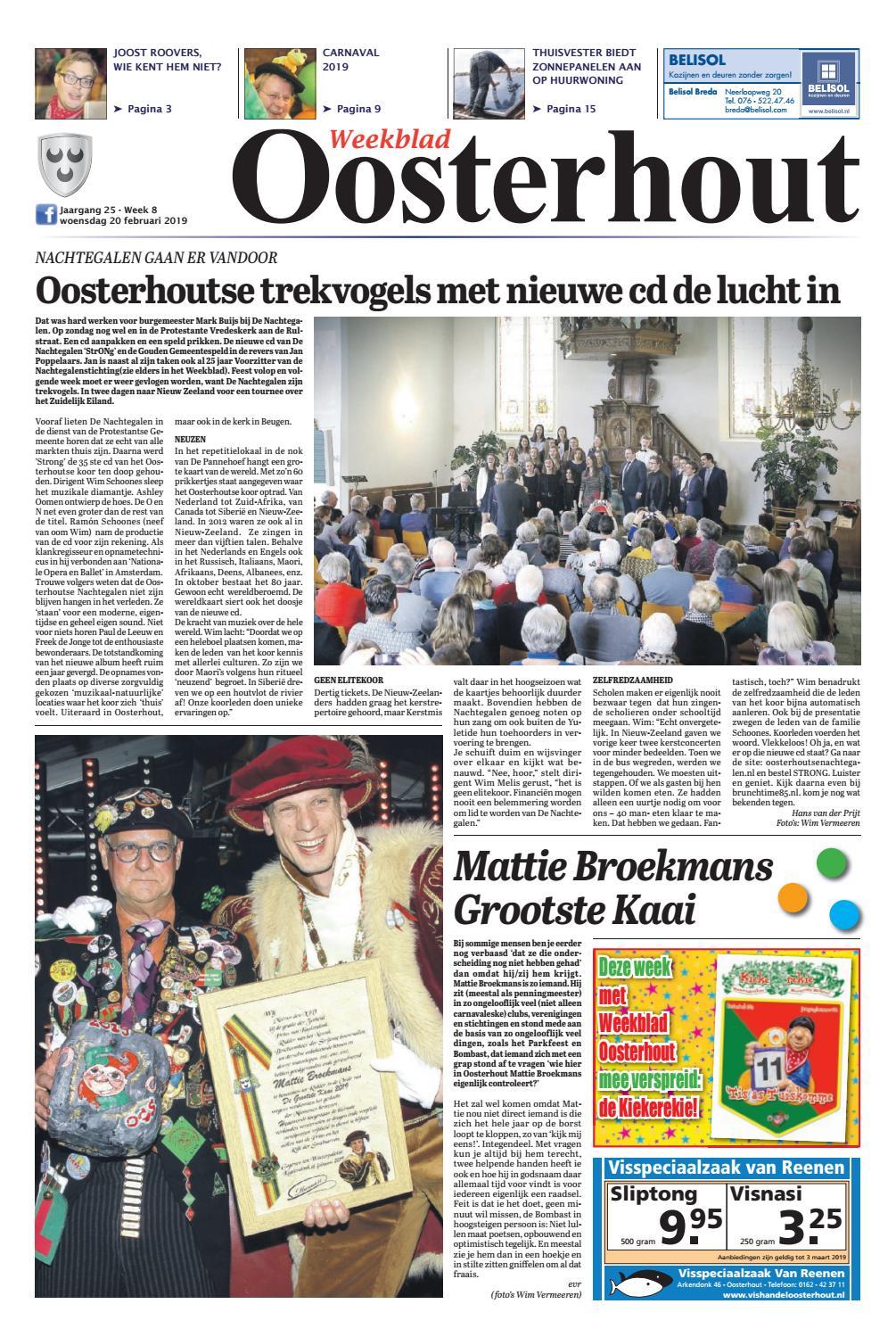 2153019c207be9 Weekblad Oosterhout 20-02-2019 by Uitgeverij Em de Jong - issuu