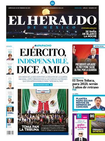 6dd25aef70 20 de febrero de 2019 by El Heraldo de México - issuu