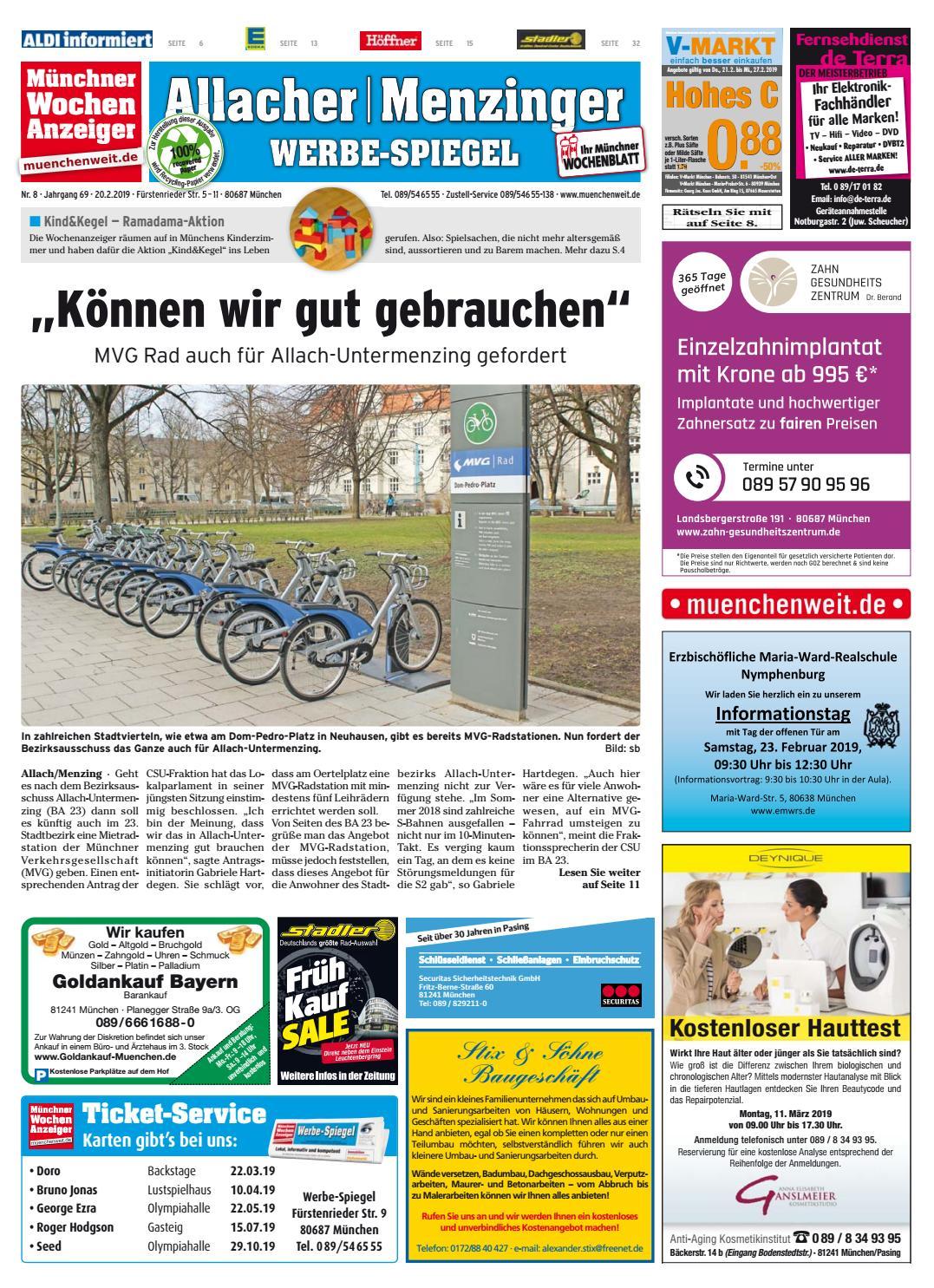 1feca9ee703d55 KW 08-2019 by Wochenanzeiger Medien GmbH - issuu