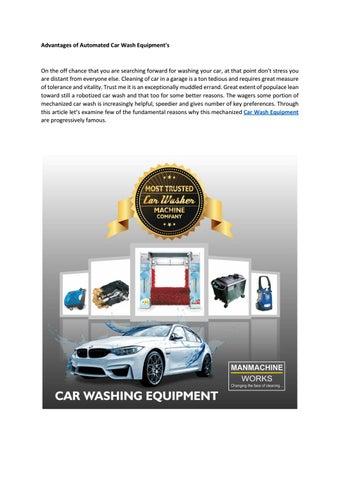 Car Wash Supplies Near Me >> Car Wash Equipment In India Semi Automatic Car Washer By