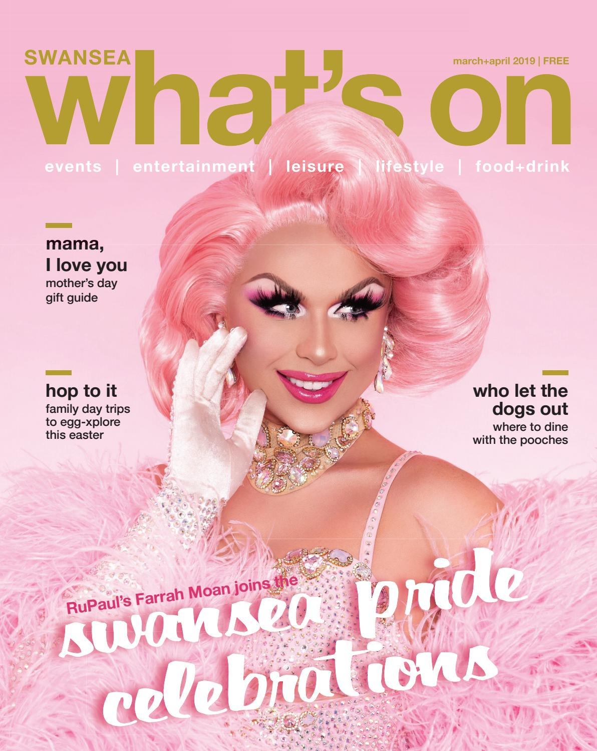2f369e1e5c3 What s On in Swansea Magazine Mar+Apr 2019 by What s On in Swansea Magazine  - issuu
