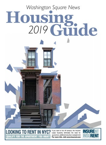 Washington Square News Housing Guide 2019 by Washington