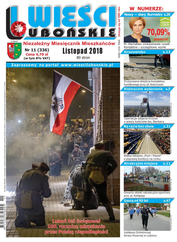 35dbf468354a75 Wieści Lubońskie 2018/11 by WiesciLubonskie - issuu