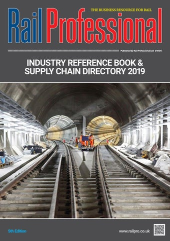 Rail Professional Industry Reference Book & Supply Chain Directory on