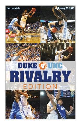 f1c5df8e658109 Duke v. UNC Rivalry Edition by Duke Chronicle - issuu