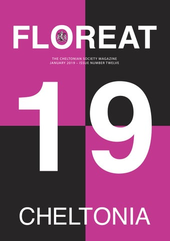 a87d4b891ac9 Floreat 2019 by Cheltenham College - issuu