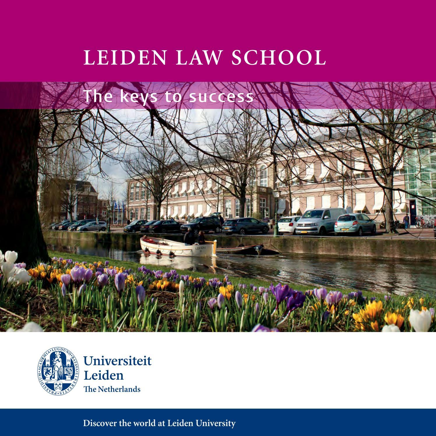Leiden Law School, the keys to succes by Leiden Law School