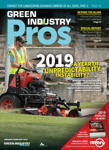 Green Industry Pros Jan/Feb 2019 by GreenIndustryPros com