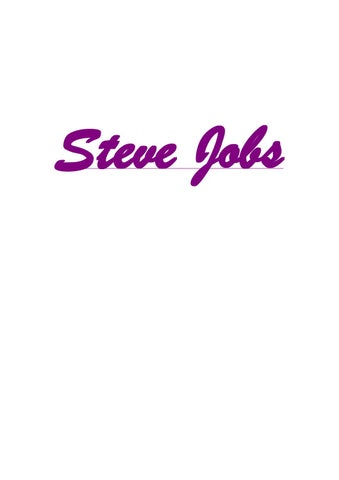 Stay Hungry Stay Foolish By Steve Jobs Ebook
