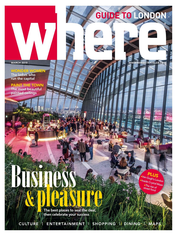 Where Magazine London Mar 2019 by Morris Media Network - issuu