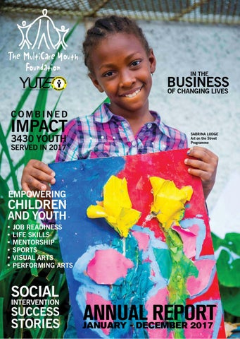 The MultiCare Youth Foundation Annual Report 2017 by The MultiCare