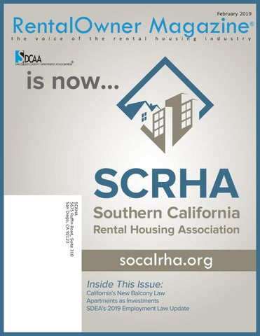 RentalOwner Magazine by Southern California Rental Housing