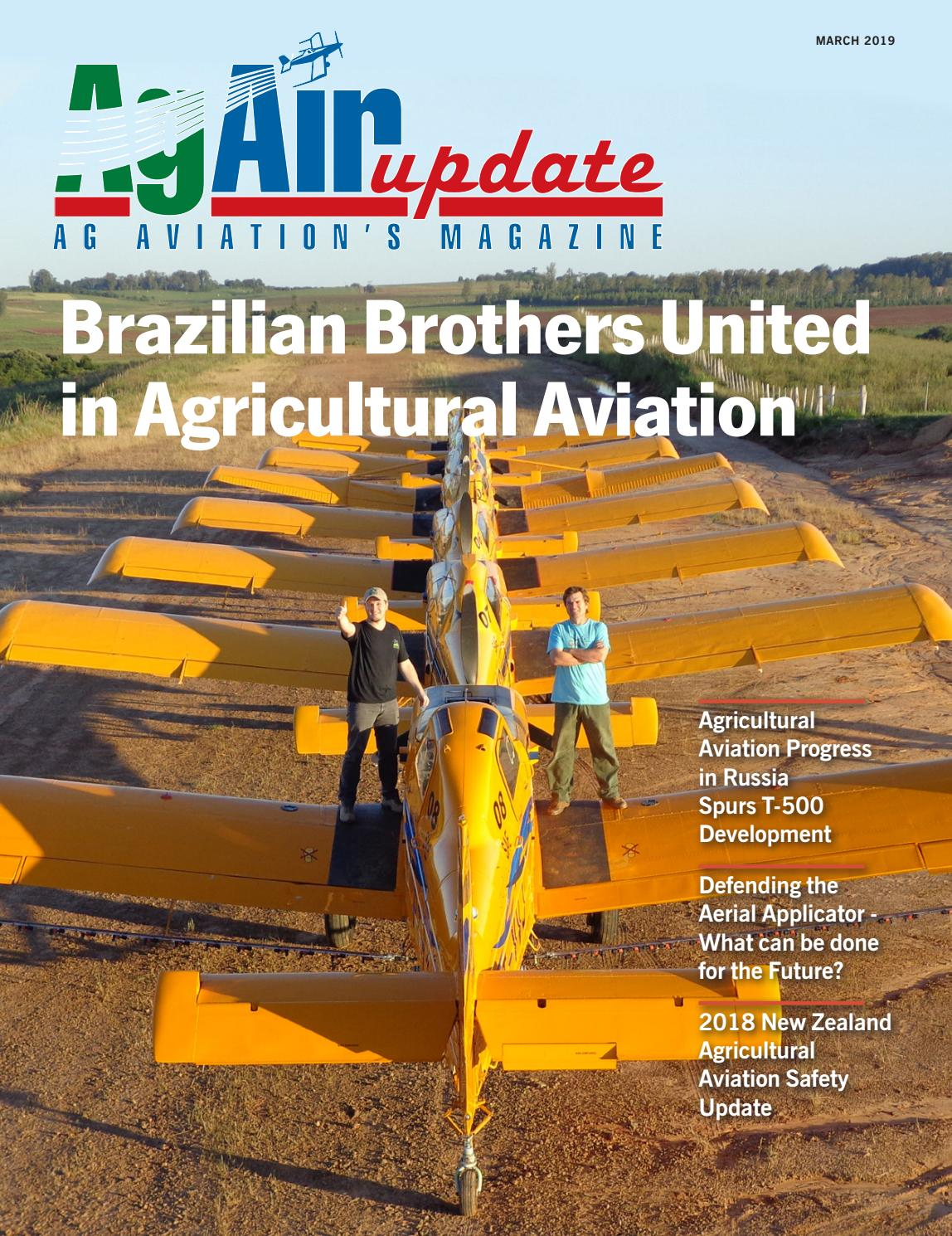 March 2019 - U S  Edition in English by AgAir Update - issuu