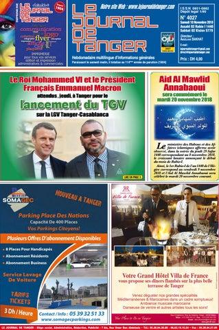 c27717584 Le journal de Tanger 4 novembre 2017 by Le Journal de Tanger - issuu