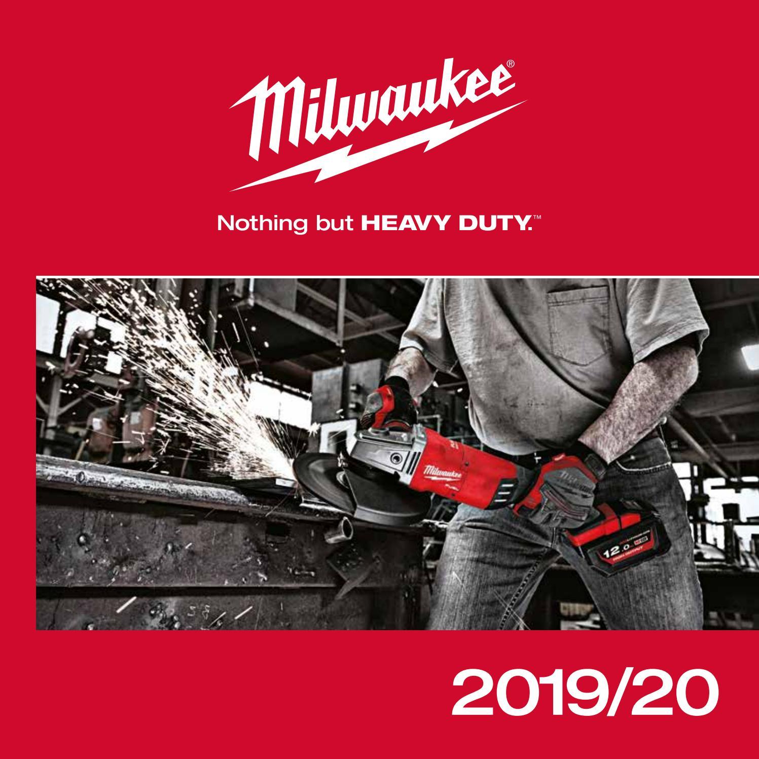 542c753f7851c Katalog Millwaukee 2019 / 2020 by Beha Tech - issuu
