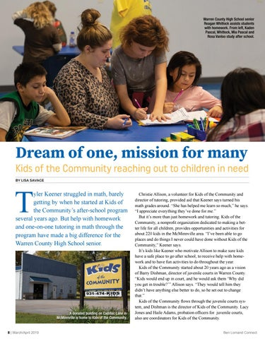 Page 8 of Dream of One, Mission of Many