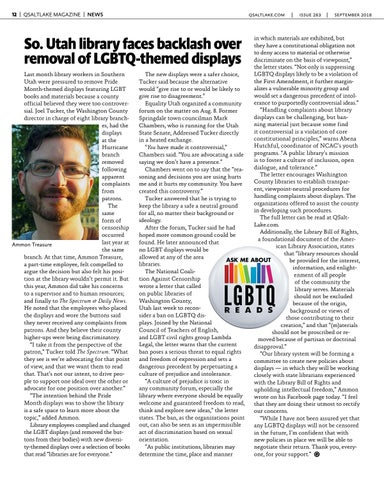 Page 12 of So. Utah library faces backlash over removal of LGBTQ-themed displays