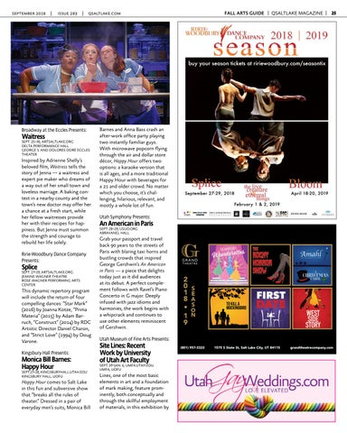 Page 25 of QSaltLake's Fall Arts Guide