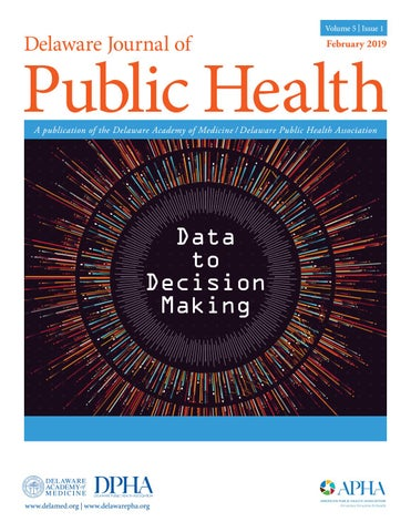 Delaware Journal of Public Health - Data to Decision Making ...