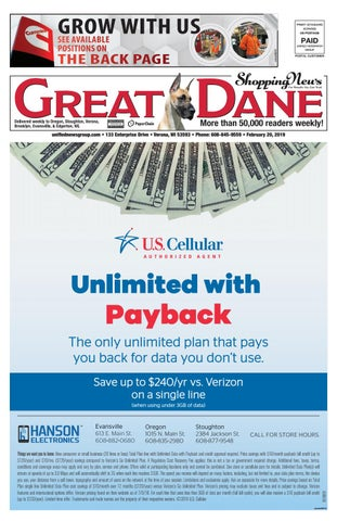 2/20/19 Great Dane Shopping News by Woodward Community Media - issuu