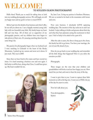 Page 2 of KOP Wedding Detals