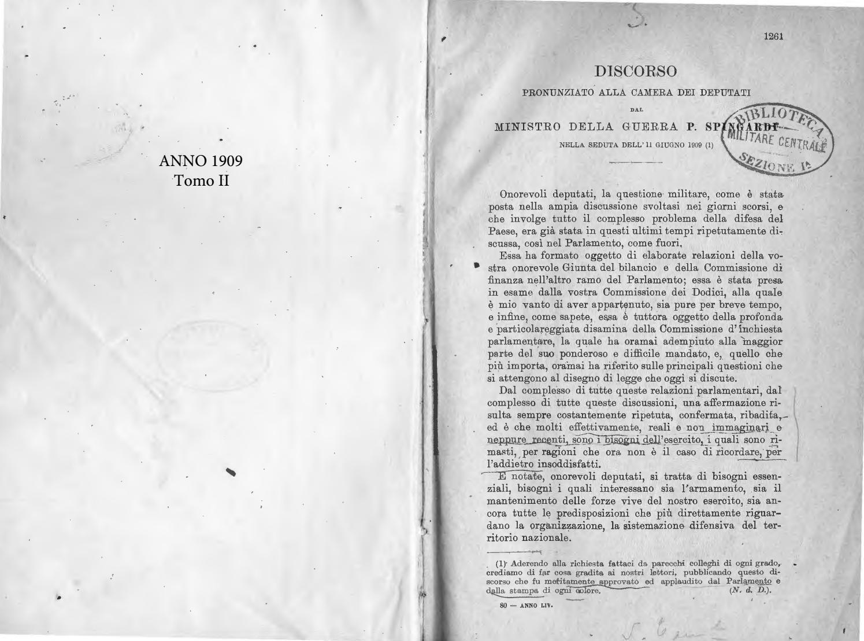 RIVISTA MILITARE 1909 TOMO II by Biblioteca Militare - issuu 812596d4472b