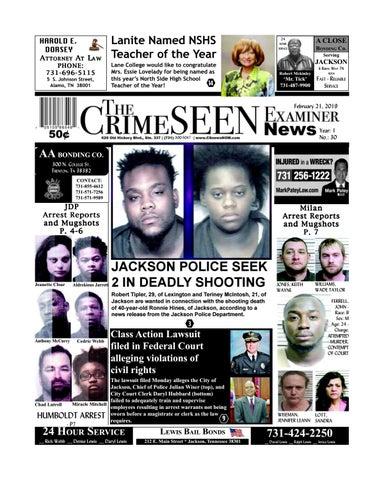 The CrimeSEEN Examiner News February 21, 2019 by CrimeSEEN