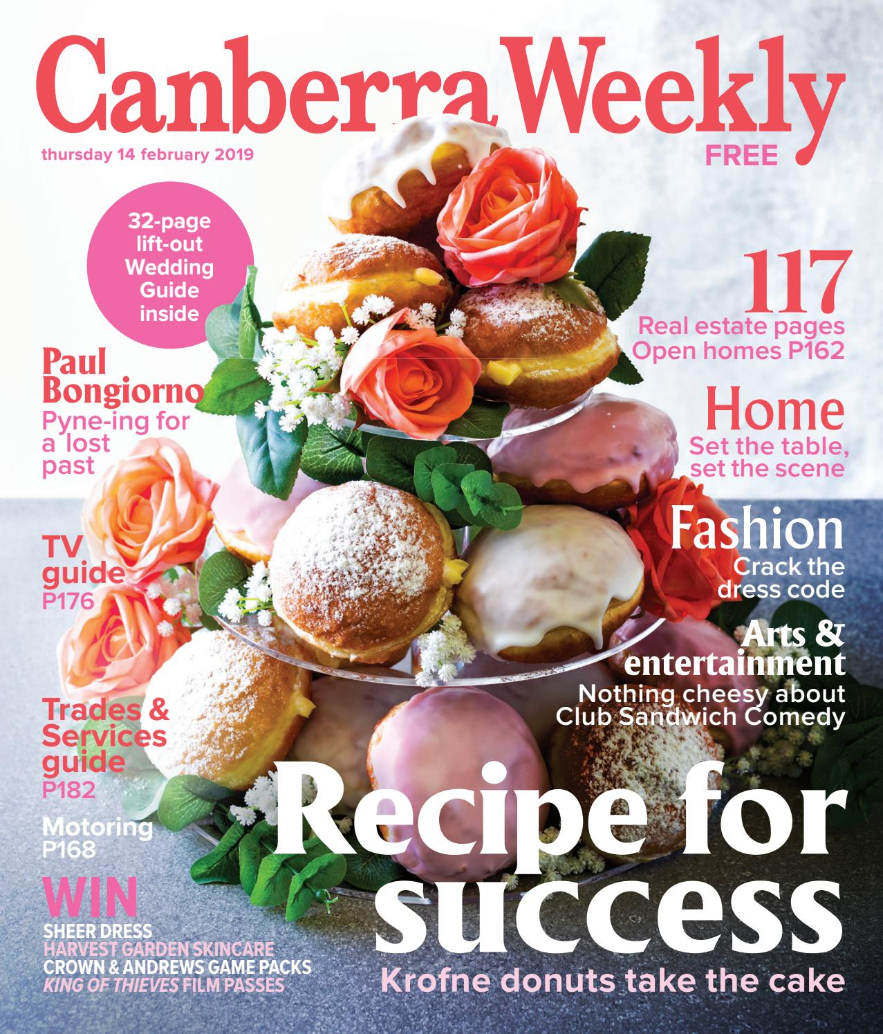 dc07c53833e94 14 February 2019 by Canberra Weekly Magazine - issuu