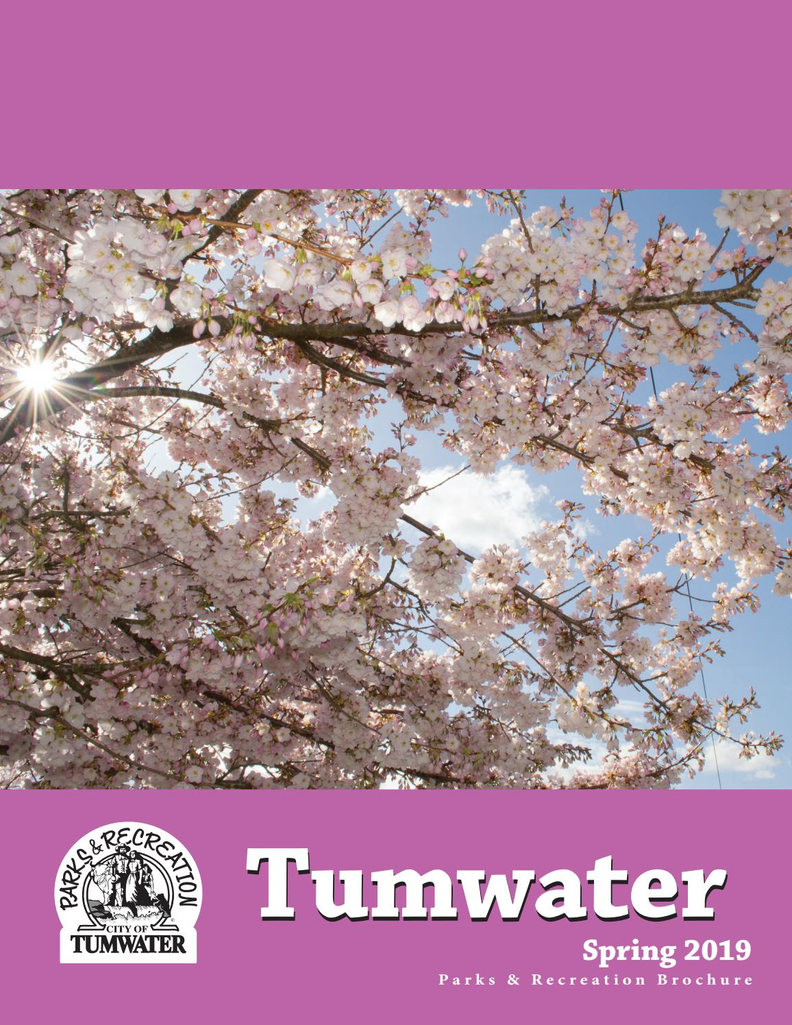Tumwater Parks & Recreation Spring 2019 Brochure by Tumwater