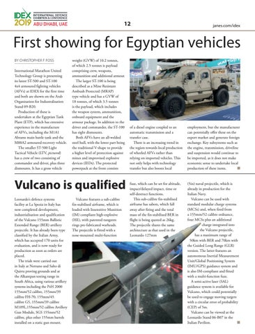Page 12 of First showing for Egyptian vehicles