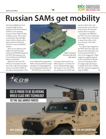 Page 13 of Russian SAMs get mobility