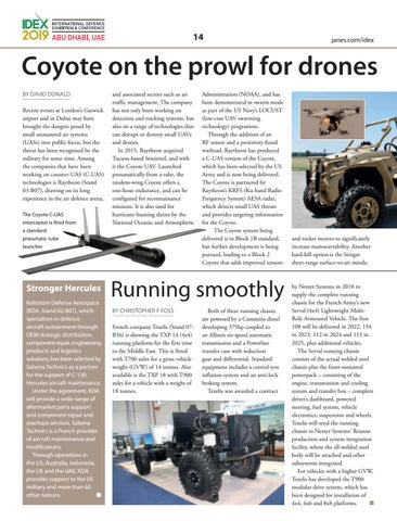 Page 14 of Coyote on the prowl for drones