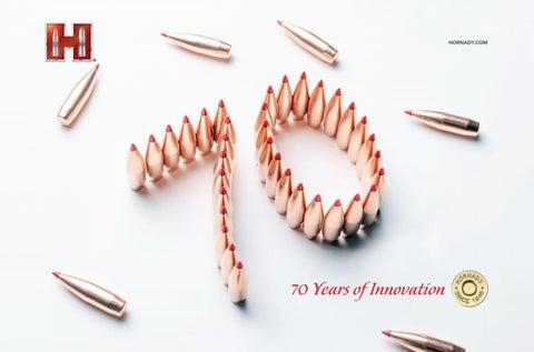 Hornady 2019metricposter anniversary ballistics by Bignami S p A