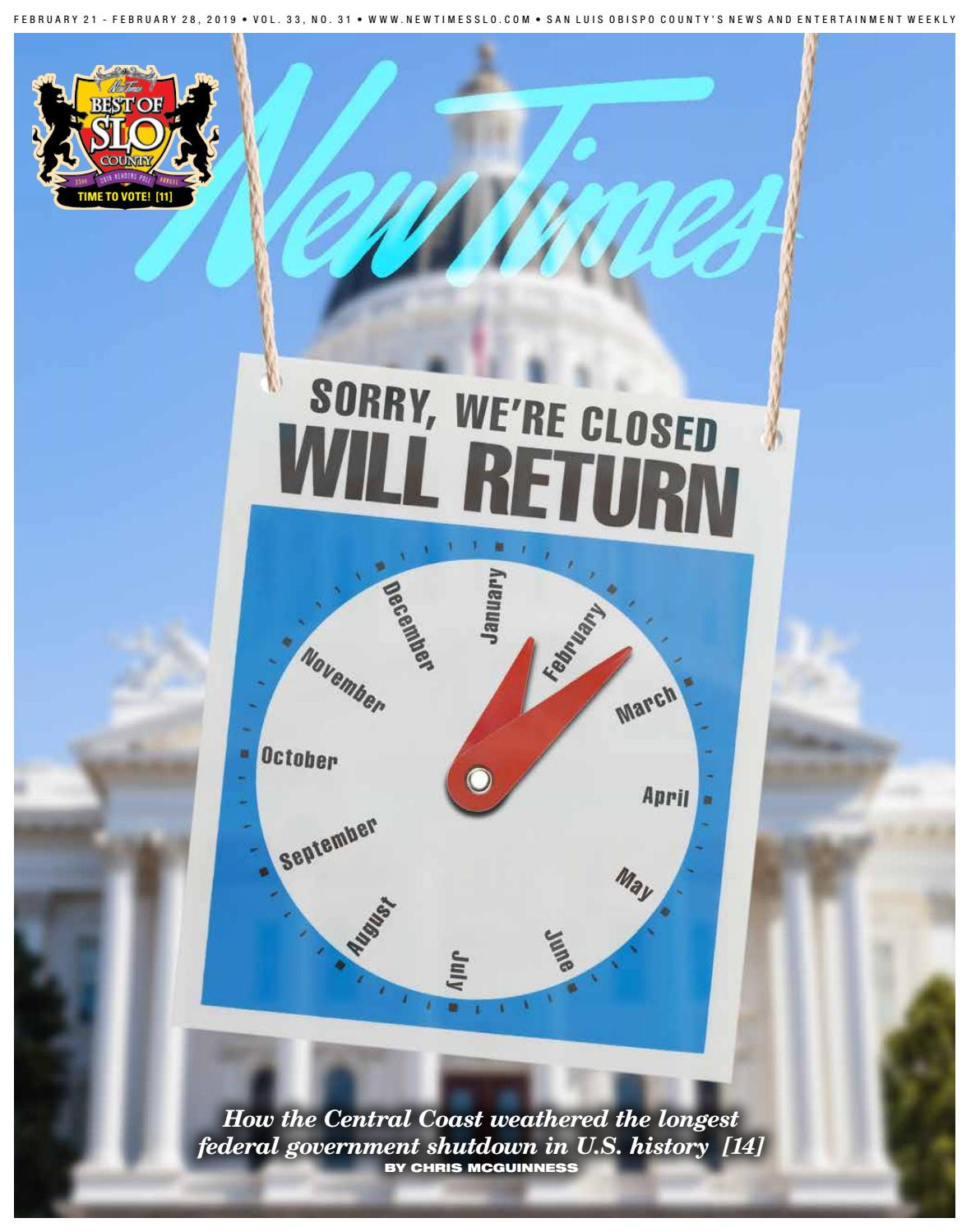 reputable site ee029 a286a New Times, Feb. 21, 2019 by New Times, San Luis Obispo - issuu