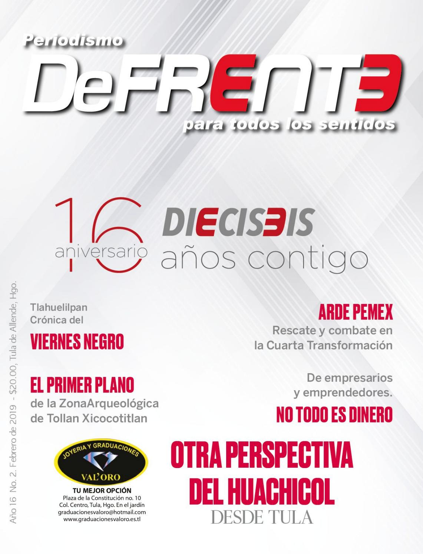 Revista Defrente Febrero By Revista Defrente Issuu