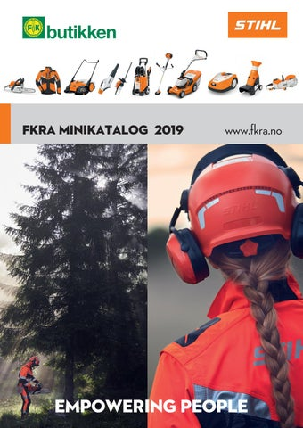 68bb9cdf3 FKRA -Felleskjøpet Rogaland / Agder. STIHL Minikatalog 2019 by ...